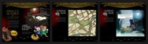 Así es la Web a la que os invitamos a entrar y vivir fantásticas aventuras con los Irregulares de Sherlock Holmes