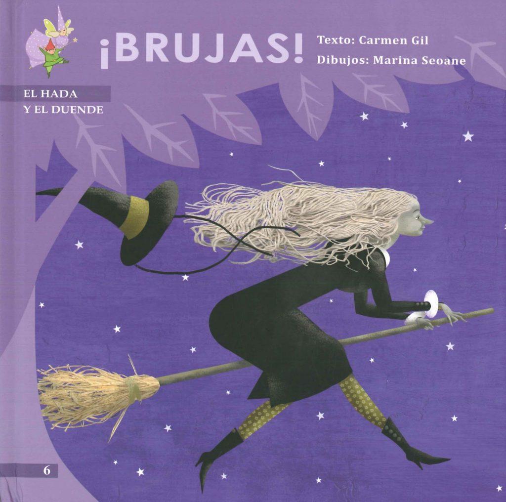 Portada de Brujas de Carmen Gil